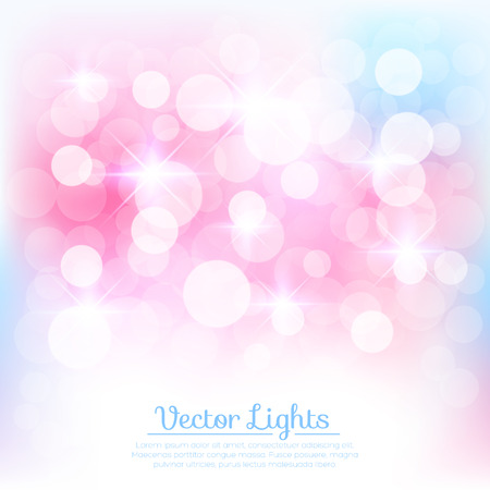 Soft background with lights. Vector illustration for your design Vector