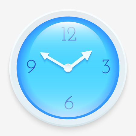 Modern clock icon  Vector illustration for your design Vector
