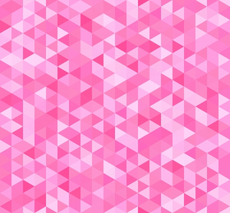 Colorful seamless pattern with triangles. Vector illustration Vectores
