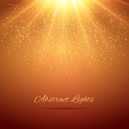 Abstract lights background. Vector illustration for your design