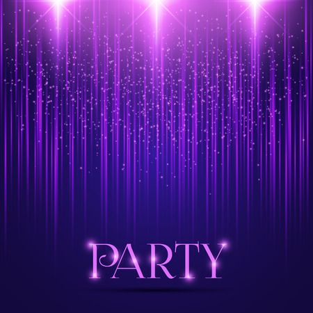 Abstract vector background with lights for festive brochure Illustration