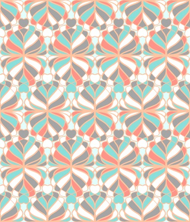 tessellated: Light abstract mosaic seamless pattern Illustration