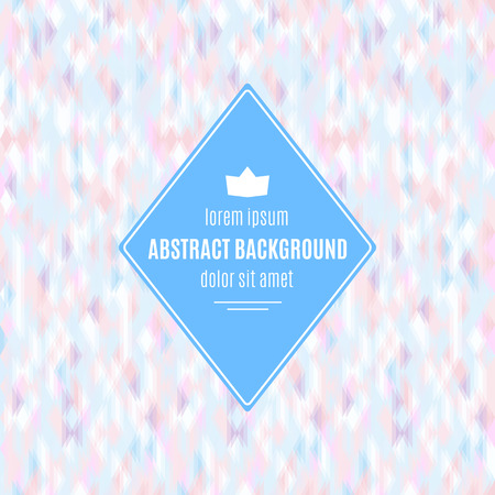 Abstract Background with defocus effect. Vector illustration
