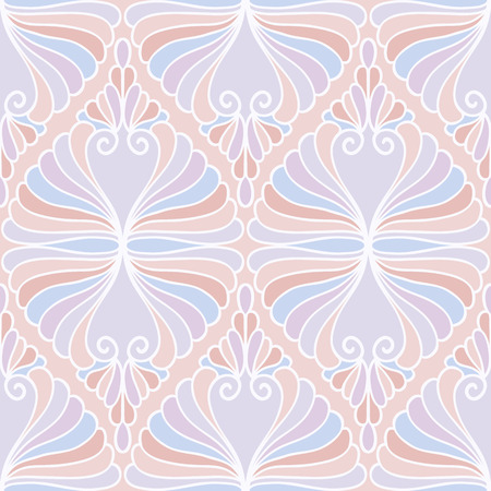 Abstract pastel seamless pattern. Vector illustration for backgrounds, textile, etc Illustration