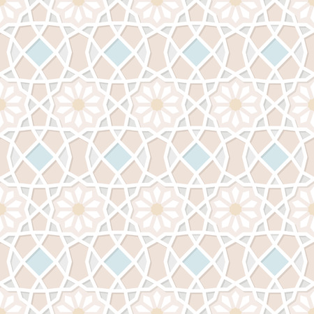 Traditional Ornamental Seamless Islamic Pattern. Vector Illustration