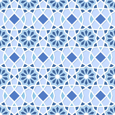 Traditional Ornamental Seamless Islamic Pattern. Vector Illustration Vector