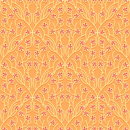 abstract wallpaper: Seamless Floral Pattern. Light Abstract  Wallpaper