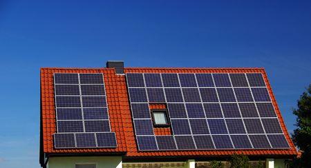 Solar plant  photo