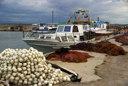 fishing net Stock Photo - 3110418
