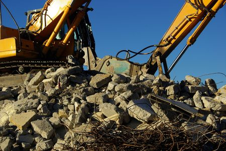 demolition Stock Photo - 3195626