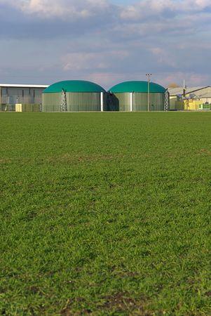 planta de biog�s  Foto de archivo - 2764978
