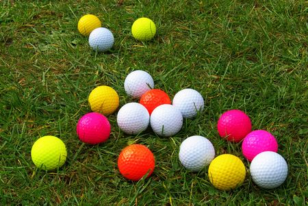 gaily: golf ball