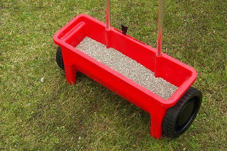 fertilizing: fertilizing tool Stock Photo