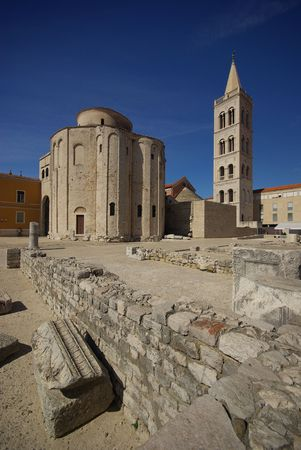 Church of st. Donat in Zadar Stock Photo - 3106217