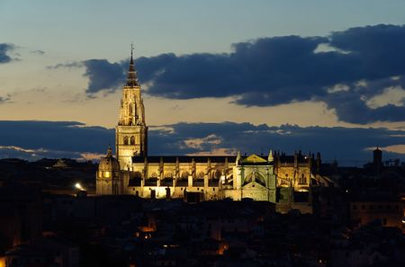 catholocism: Toledo cathedral Stock Photo