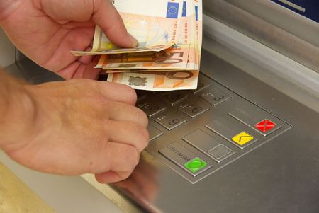 cash point Stock Photo - 3104462