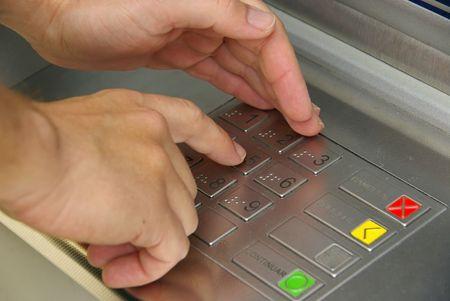 bancomat: cash point