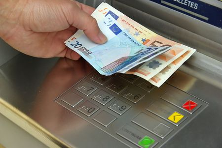 bancomat: sash point, atm Stock Photo