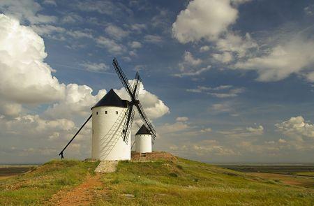 Alcazar windmill photo