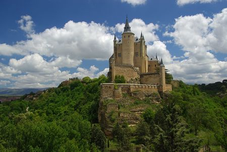 Segovia Alcazar 01 Stock Photo - 3334131