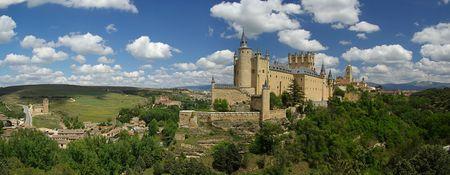 catholocism: Segovia Alcazar 04 Stock Photo