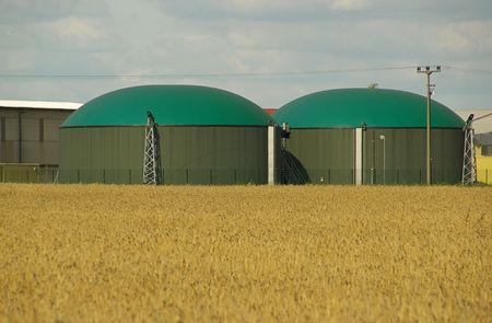 biogas plant 08 Stock Photo - 3345565