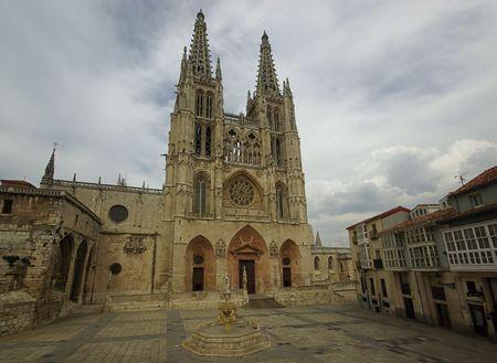 Burgos cathedral 02 Stock Photo