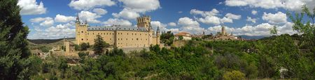 catholocism: Segovia Alcazar 03 Stock Photo