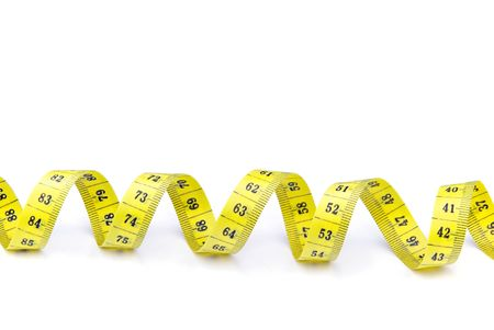measuring tape: tape measure Stock Photo