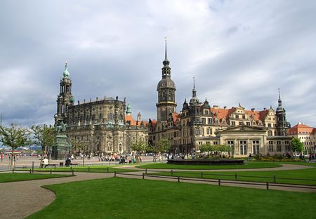 Dresden old town 08 photo