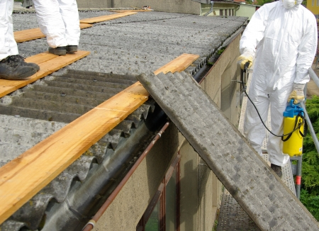 asbestos 06 Stock Photo