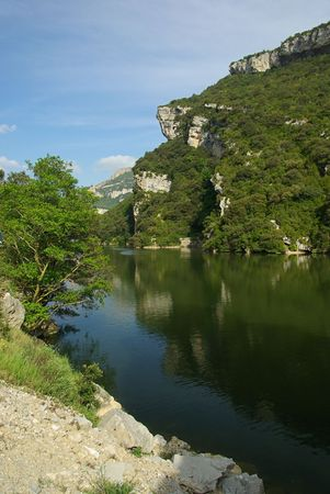 ebro: Rio de Ebro Embalse Sobr�n 06  Archivio Fotografico