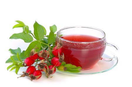 medicinal plant: rose hip tea 02