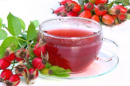 rose hip tea 03 Stock Photo - 3569897