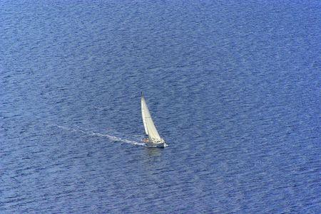 seacoast: sailing boat