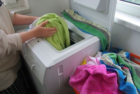 washing clothes 02 photo
