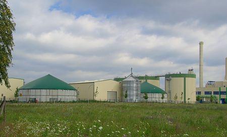 anaerobic: Biogasanlage - biogas plant 24 Stock Photo