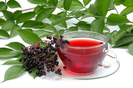 tea elder 02 Stock Photo - 3683509