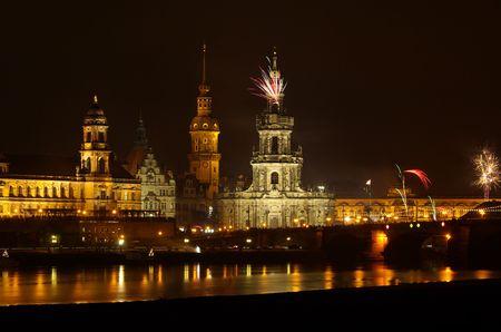 Dresden Feuerwerk - Dresden Fireworks 14 photo