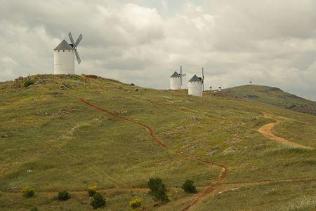 Herencia windmill photo