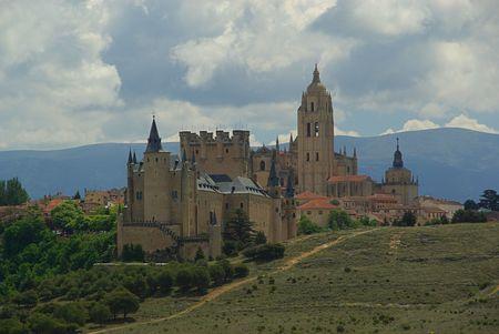 alcazar: Segovia Alcazar Stock Photo
