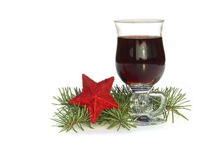 vin chaud: vin chaud poin�on 06 Banque d'images