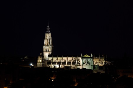 toledo town: Toledo cathedral 07 Stock Photo