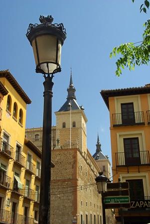 alcazar: Toledo Alcazar 02 Stock Photo