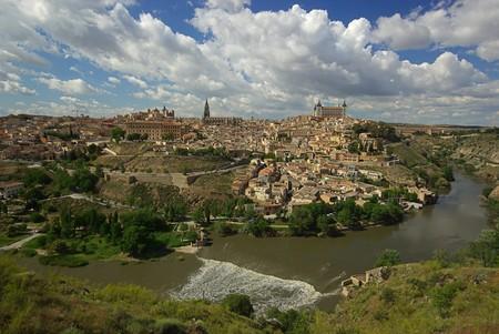 Toledo town Panorama 01 photo