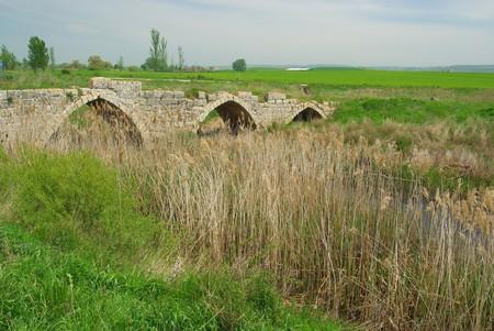 Sasamon roman bridge 02 photo