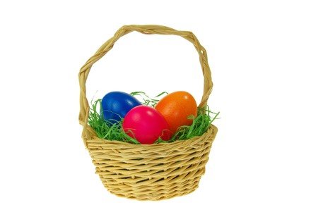 easter basket photo