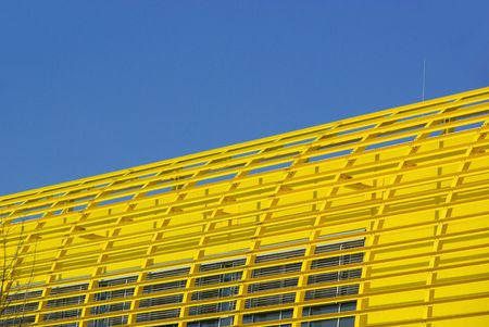 steelwork: structural steelwork yellow 01