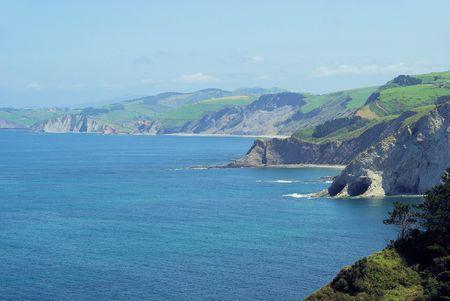 seacoast: Costa Vasca near Deba