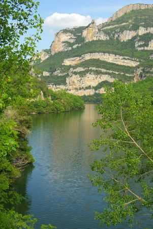 ebro: Rio de Ebro Embalse Sobr�n 14